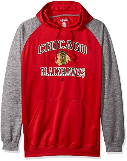 Profile Big   Tall NHL Chicago Blackhawks Men s B T Poly Fleece Hoodie 1408a023e