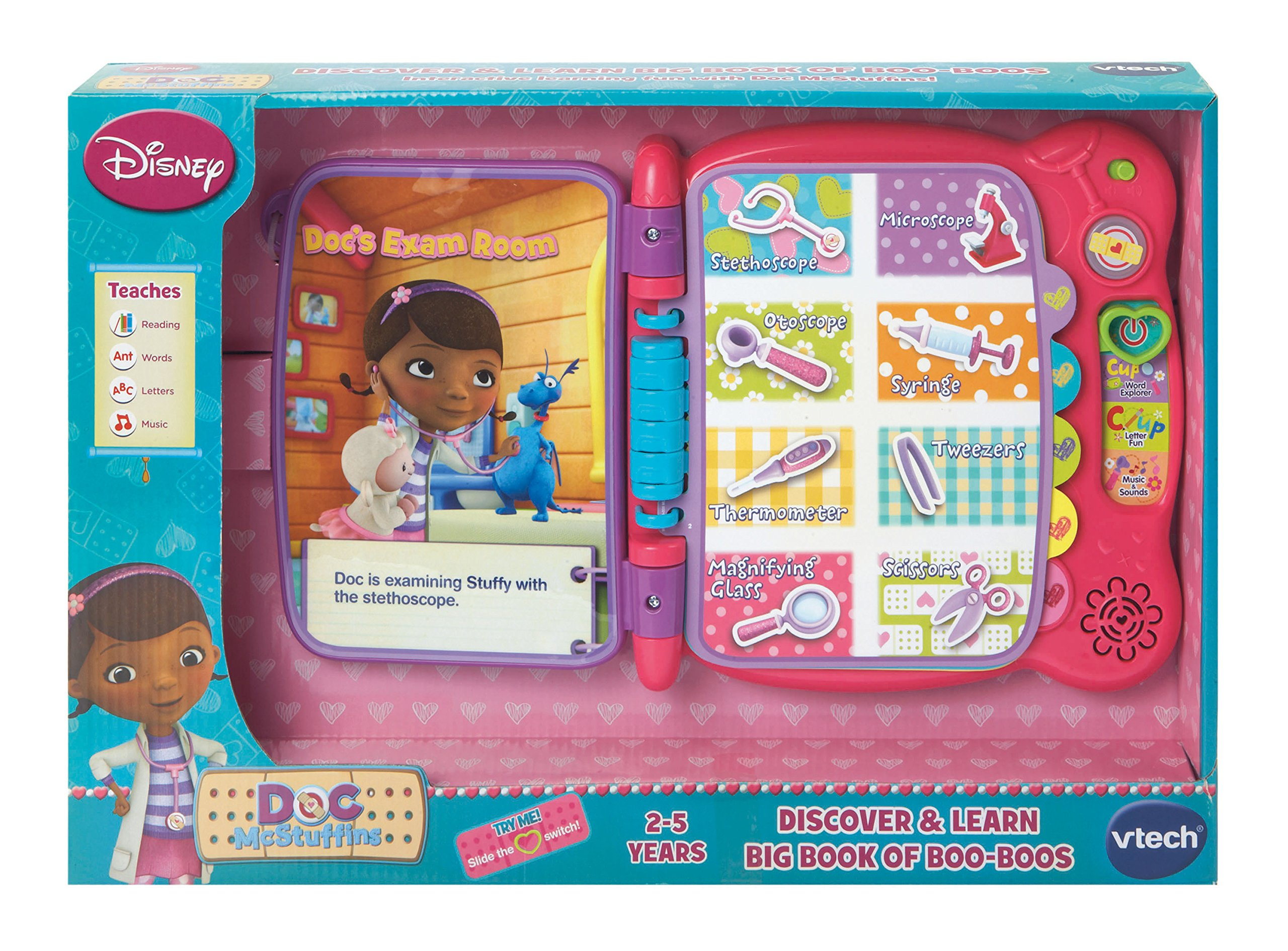 VTech Disney Doc McStuffins Discover and Learn Big Book of Boo-Boos by VTech (Image #4)