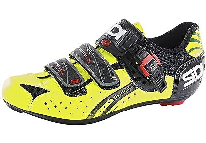 Sidi Genius 5 Fit Carbon - Zapatillas - amarillo Talla 39 2016