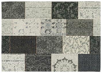 Designer teppich gemustert patchwork vintage mona lisa von keen