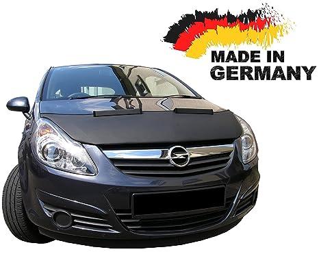 Black Bull Opel Corsa D Car Bra máscara coche Protège gorro Tuning New