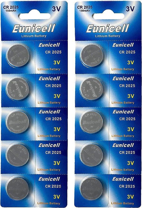 10 X Cr2025 3v Lithium Knopfzelle 150 Mah Einweg Elektronik