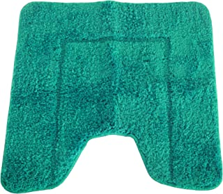 product image for Mayfair Cashmere Touch Ultimate Microfiber Pedestal Mat (19.6 x 19.6in) (Jade)