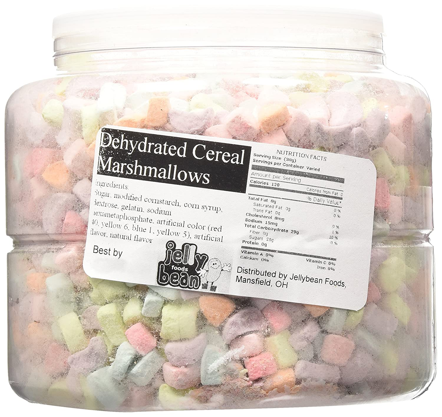 2dbd2315f1bd Amazon.com   12 Oz Multi Colored Cereal Marshmallows Dehydrated   Lucky  Charms Marshmallows Only   Grocery   Gourmet Food