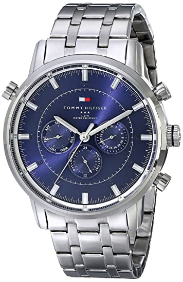80423fd47 Buy Tommy Hilfiger Men's 1790876 Sport Luxury Multi-Function Stainless  Steel Watch Online at Low Prices in India - Amazon.in