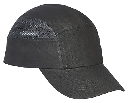 7a64b30f2cf Spire Protective Vent Cool Safety Baseball Bump Cap Hard Hat (Black ...