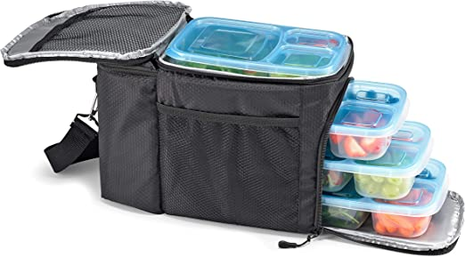 Amazon.com: Fit & Fresh 7300FFWB2309 - Bolsa de preparación ...