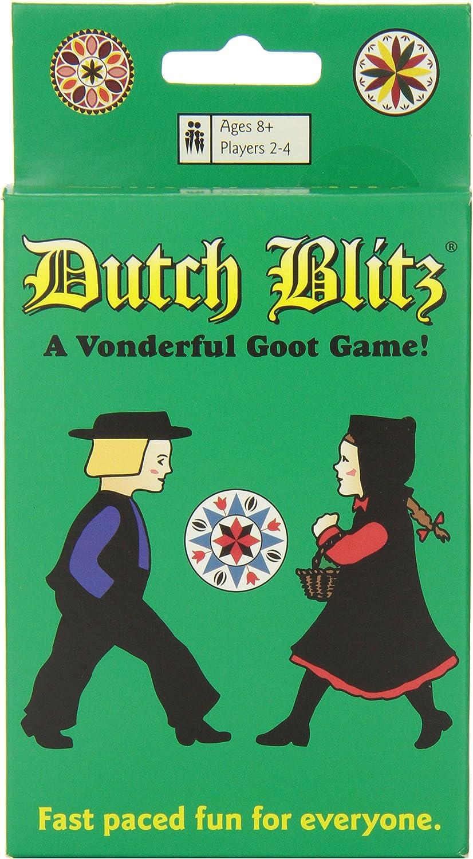 Juego de cartas Dutch Blitz para toda la familia: Amazon.es: Electrónica
