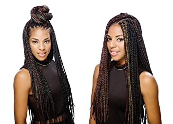 amazon com innocence box braid crochet braids small 1b 60 off