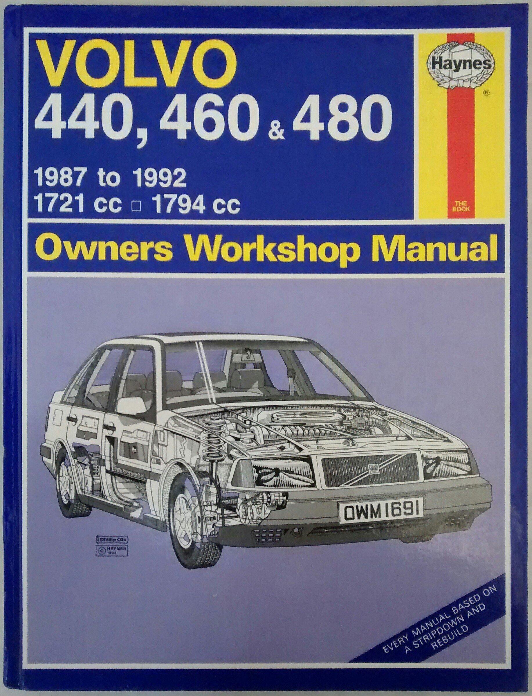 buy volvo 440 460 and 480 owners workshop manual service repair rh amazon in 97 Volvo 960 Repair Manual Volvo Car Manuals