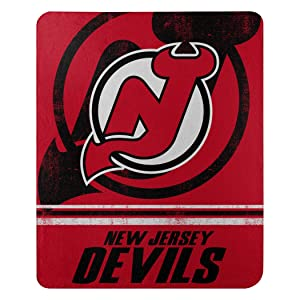 """Officially Licensed NHL """"Fade Away"""" Fleece Throw Blanket, 50"""" x 60"""", Multi Color"""
