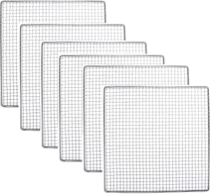 6 PACK - Excalibur Dehydrator Stainless Steel Tray Replacement UPGRADE Food Shelf Mesh