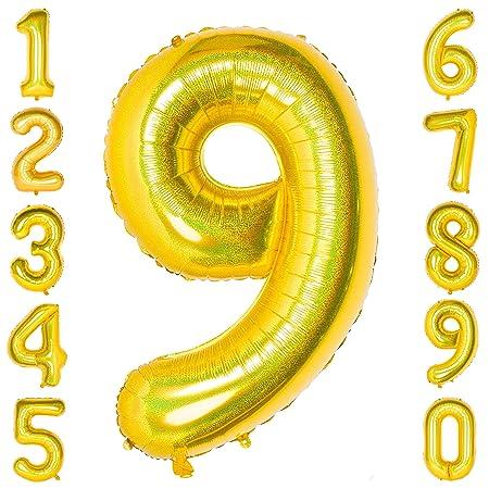 Globo digital de 40 pulgadas con números grandes de 0 a 9 ...