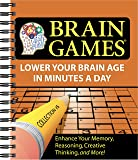 Brain Games #5: Lower Your Brain Age in Minutes a Day (Volume 5) (Brain Games - Lower Your Brain Age in Minutes a Day)