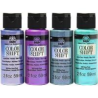 FolkArt PROMOCS4 Color Shift Paint, 4 Pack