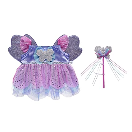 aeb5efaf3bc Image Unavailable. Image not available for. Color  Build A Bear Workshop  Butterfly Fairy Costume 2 pc.