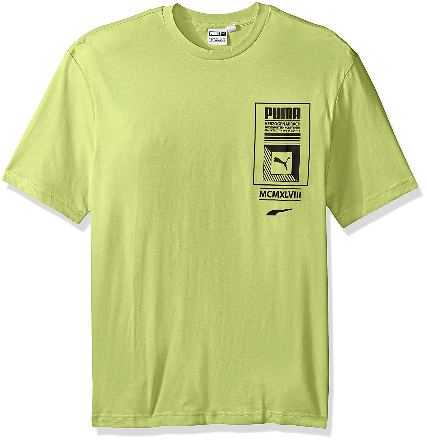 fab316bb1a07 PUMA Men s Logo Tower T-Shirt at Amazon Men s Clothing store