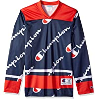 Champion LIFE Mens T1073P Men's Hockey Jersey Long Sleeve Shirt