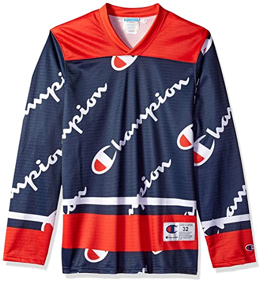Amazon.com  Champion LIFE Men s Hockey Jersey  Clothing 2d6825338