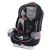 Graco Nautilus 65 LX 3-in-1 Harness Booster Car Seat, Matrix