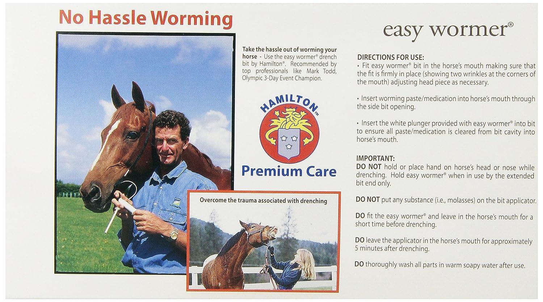Easy horse wormer