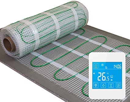 Fantastic Electric Underfloor Heating Kit 160W M2 With Touch Screen Thermostat All Sizes Life Time Warranty Interior Design Ideas Jittwwsoteloinfo