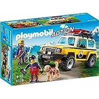 Playmobil-9128 Vehículo de Rescate de Montaña, Multicolor, única