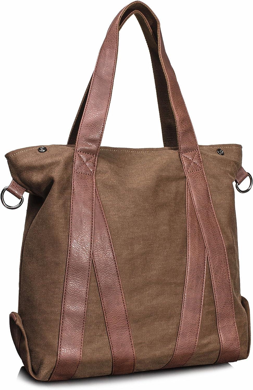 Dunland Women Leather Shoulder Crossbody Bag PU Stitching Handbag Wallet Stylish Satchel Tote