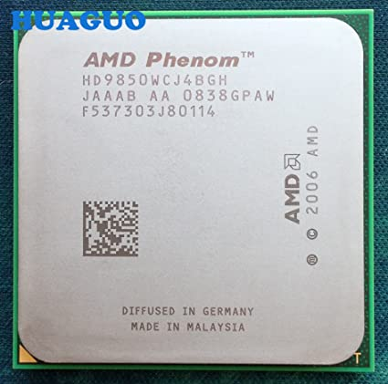 AMD PHENOM X4 9850 DRIVER FOR WINDOWS