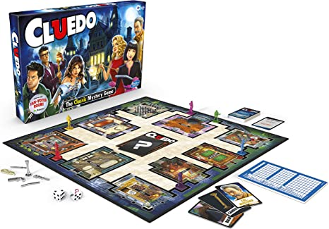 CLUE Cluedo The Classic Mystery Game: Amazon.es: Juguetes y juegos