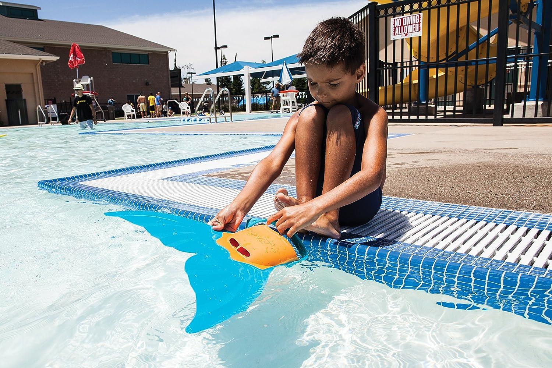 Teens Gear Mermaid MONOFIN Kids Child Swimming Swim Pool Flippers Finis Silicon