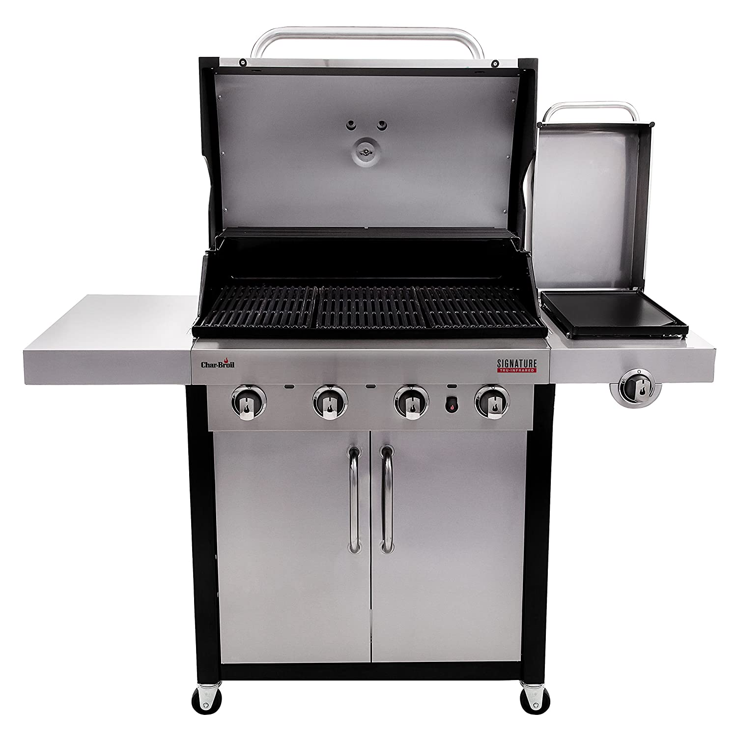 Char broil commercial series gas grill - Amazon Com Char Broil Signature Tru Infrared 4 Burner Cabinet Gas Grill Garden Outdoor