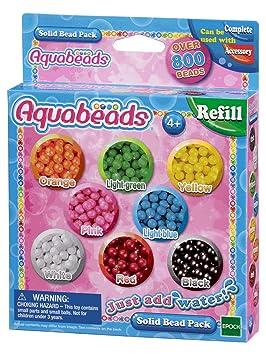 Aquabeads-79168 Solid Bead Pack Epoch para Imaginar 79168: Amazon.es: Juguetes y juegos