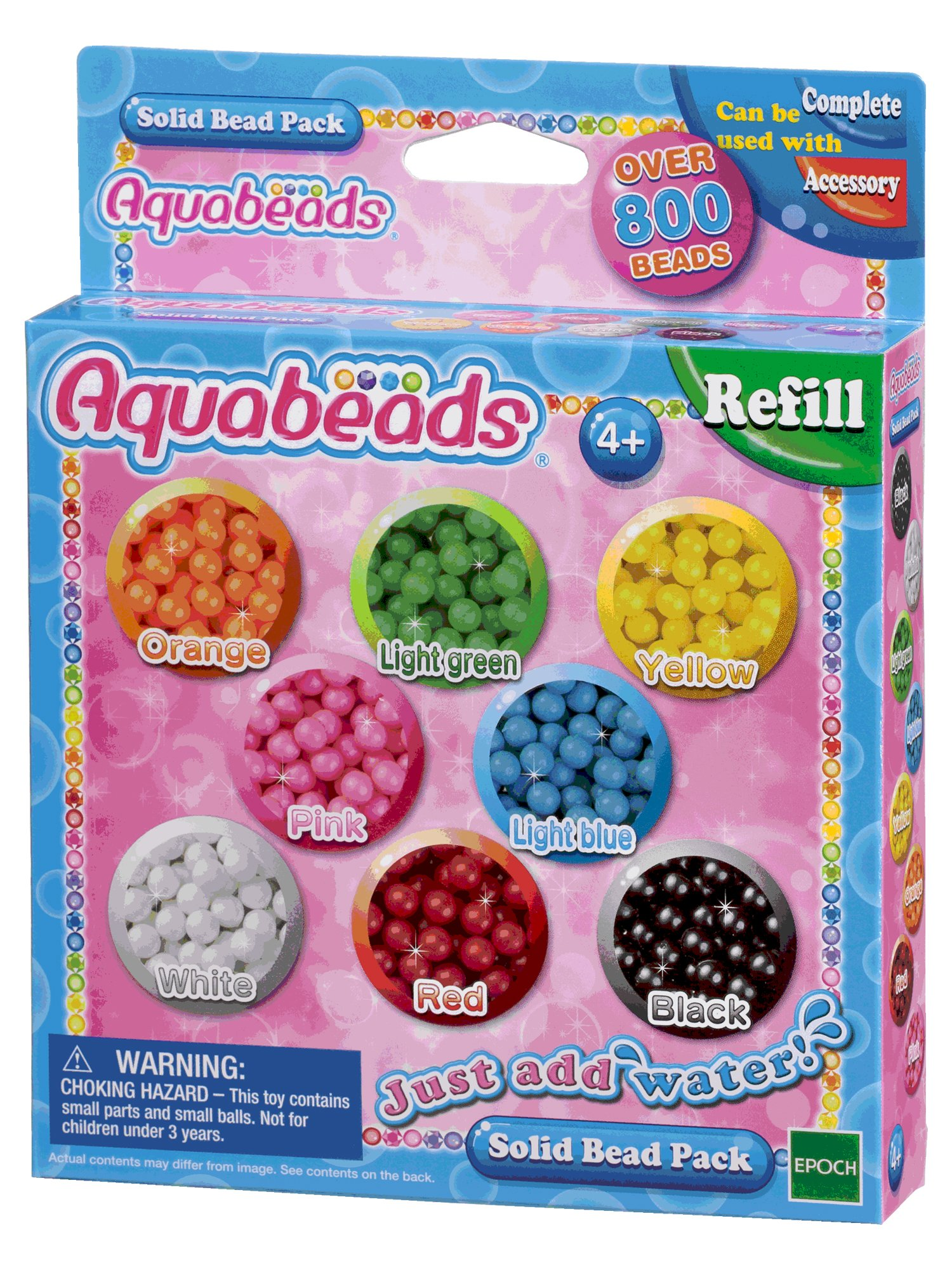 Aquabeads-79168 Solid Bead Pack Epoch para Imaginar 79168 product image