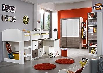 Children S Boys Girls Bedroom Furniture Bed Wardrobe Set