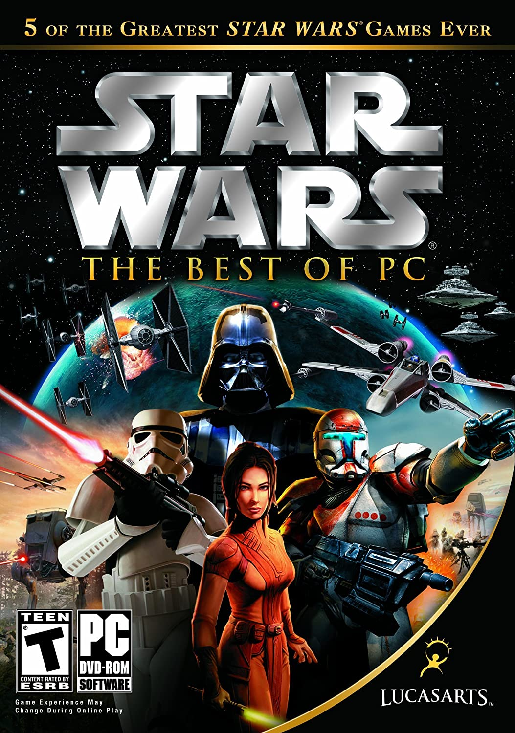 Star Wars The Best of PC Empire at War Knights of the Old