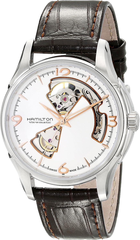 Hamilton Men s H32565555 Jazzmaster Silver Dial Watch