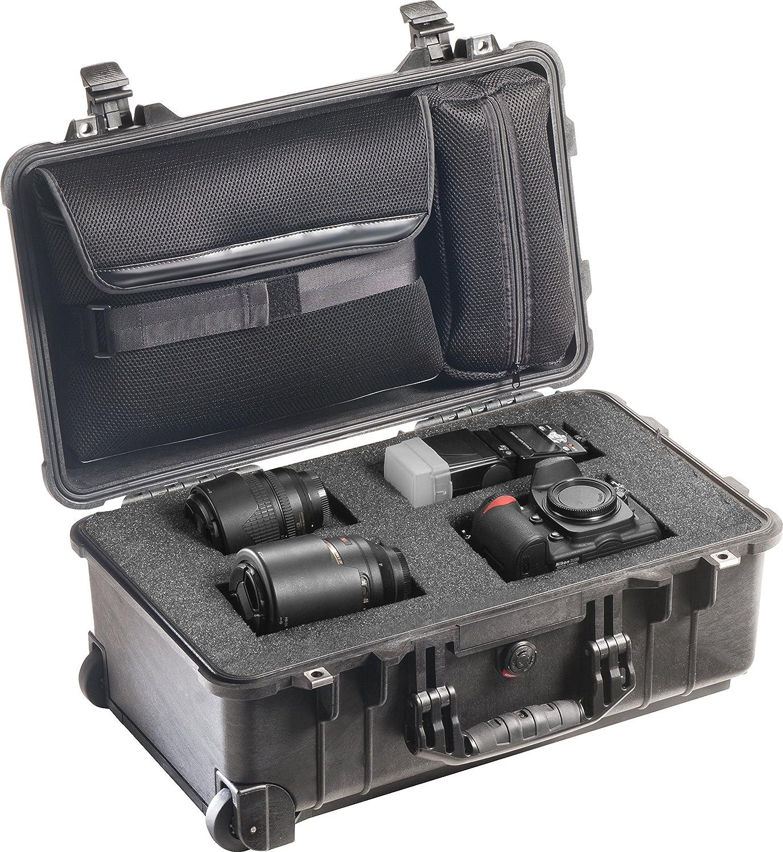 Black Pelican 1510 Hybrid Case with TrekPak Dividers and Foam