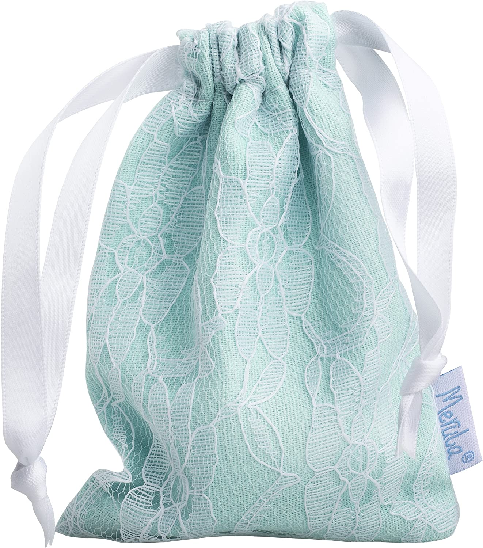 Merula Cup ice (transparent) - Tamaño único copa menstrual de silicona de grado médico