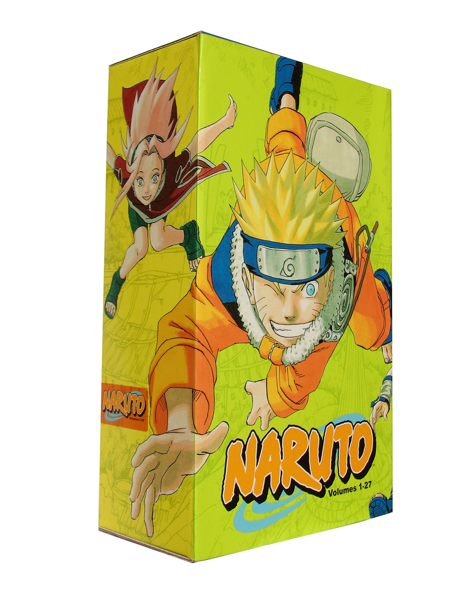 Amazon.com: Naruto Box Set 1: Volumes 1-27 with Premium (9781421525822):  Masashi Kishimoto: Books