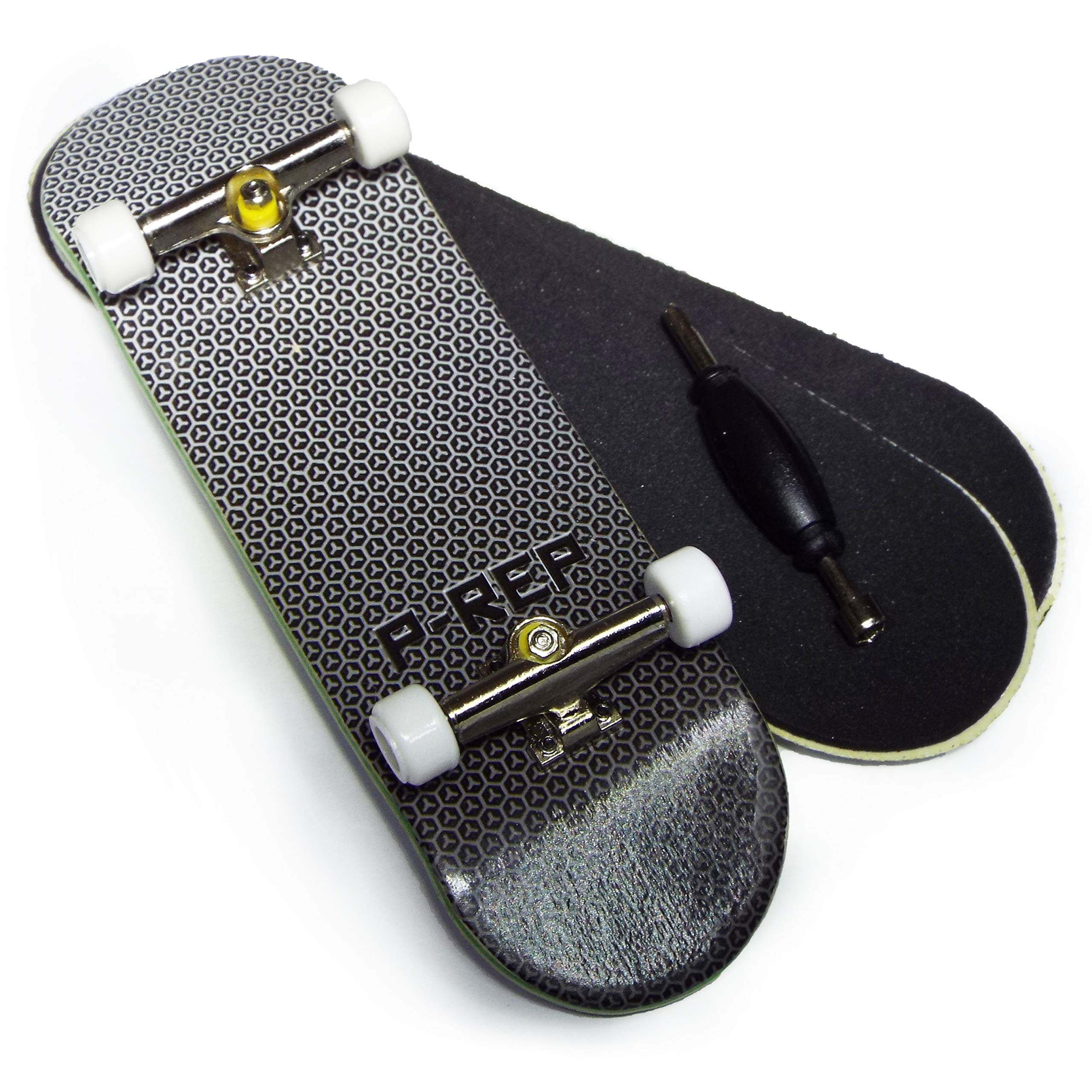 P-REP Starter Complete Wooden Fingerboard 30mm x 100mm - White Logo by P-REP