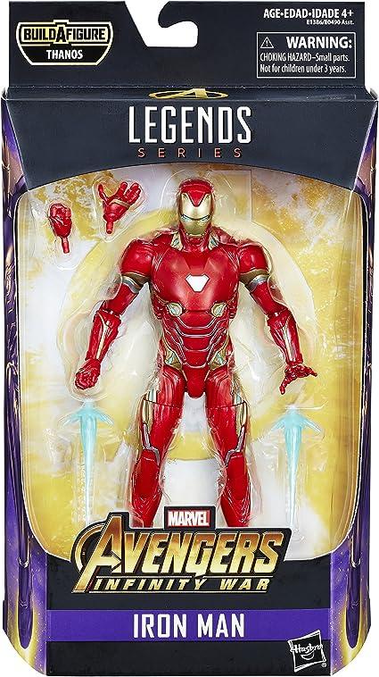 "7/"" Marvel Avengers Infinity War Iron Spiderman Iron Man Action Figure NO BOX set"