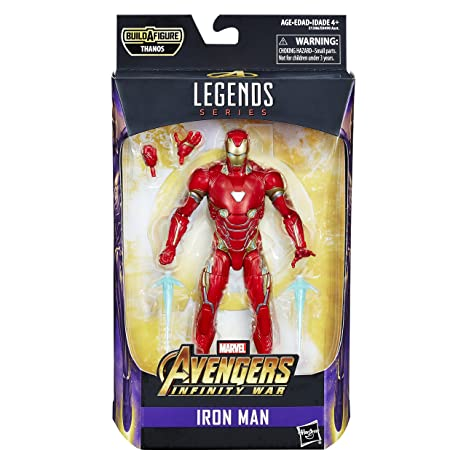 Amazon Com Marvel Legends Series Avengers Infinity War 6 Inch Iron