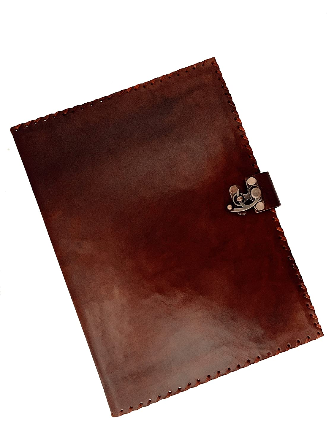 Amazon Com Handmade World Vintage Handmade Leather Portfolio