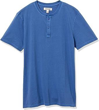 Goodthreads Mens Cotton Short-Sleeve Henley Brand