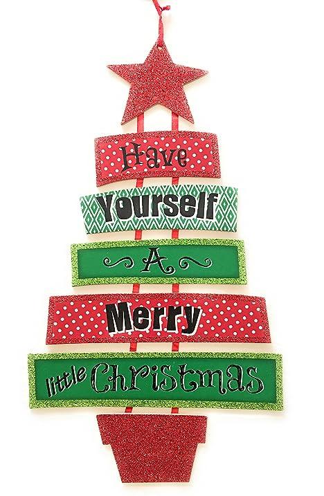 Amazon.com: Holiday Tidings Dangle Tree Wall Decor; \