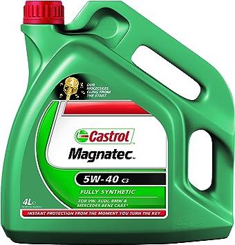 Castrol Magnatec Engine Oil 5w 40 C3 4l Auto