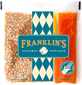 Franklin's Gourmet Movie Theater Popcorn Organic Popping Corns