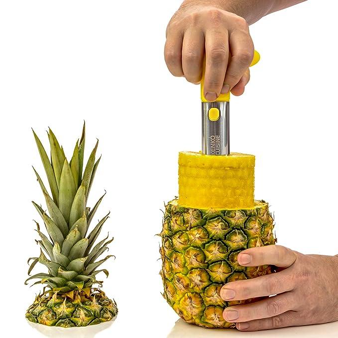 Amazon.com: Cocina Ninja Piña corer cortadora Peeler 3 en 1 ...