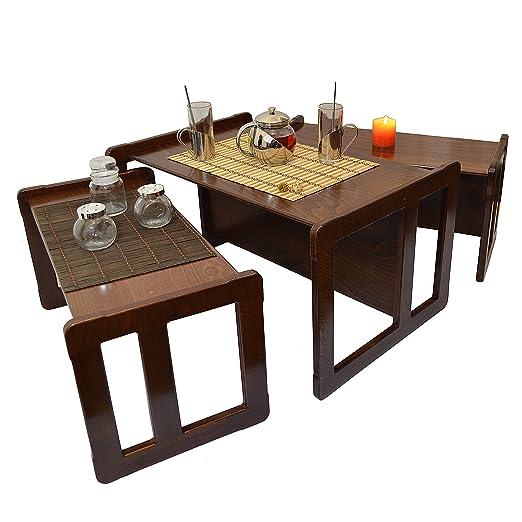 3 en 1 Nido de 3 Mesas de Café para Adultos o Mueble para Niños ...